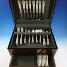 George II Rex by Watson Sterling Silver Flatware Dinner Size Set Service For 8