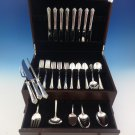 Damask Rose by Oneida Sterling Silver Flatware Set For 8 Service 48 Pieces