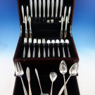 Gossamer by Gorham Sterling Silver Flatware Set For 8 Service 54 Pieces Modern