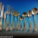Lancaster by Gorham Sterling Silver Flatware Set For 12 Service 172 Pieces Huge