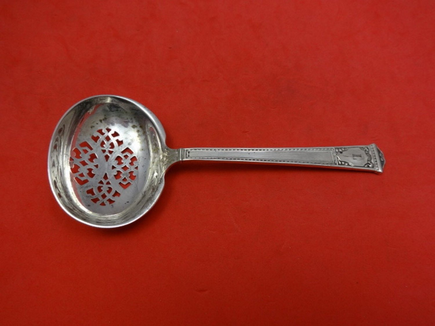 """San Lorenzo by Tiffany and Co Sterling Silver Sugar Sifter 5 1/2"""""""