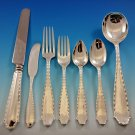 Marquise by Tiffany and Co Sterling Silver Flatware Set for 12 Service 89 pcs
