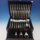 Tulip by Michelsen Sterling Silver Flatware Set Service For 12 Modernism 75 Pcs