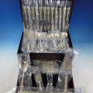 Joan of Arc by International Sterling Silver Flatware Set 12 Service 77 Pcs New