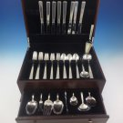 Old Lace by Towle Sterling Silver Flatware Set For 8 Service 49 Pcs