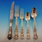 New King by Dominick and Haff Sterling Silver Flatware Set Service 40 pcs Dinner