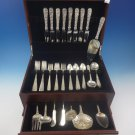 Repousse by Kirk Sterling Silver Flatware Set For 8 Service 54 Pieces