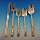 Inaugural by State House Sterling Silver Flatware Set for 8 Service 44 pieces