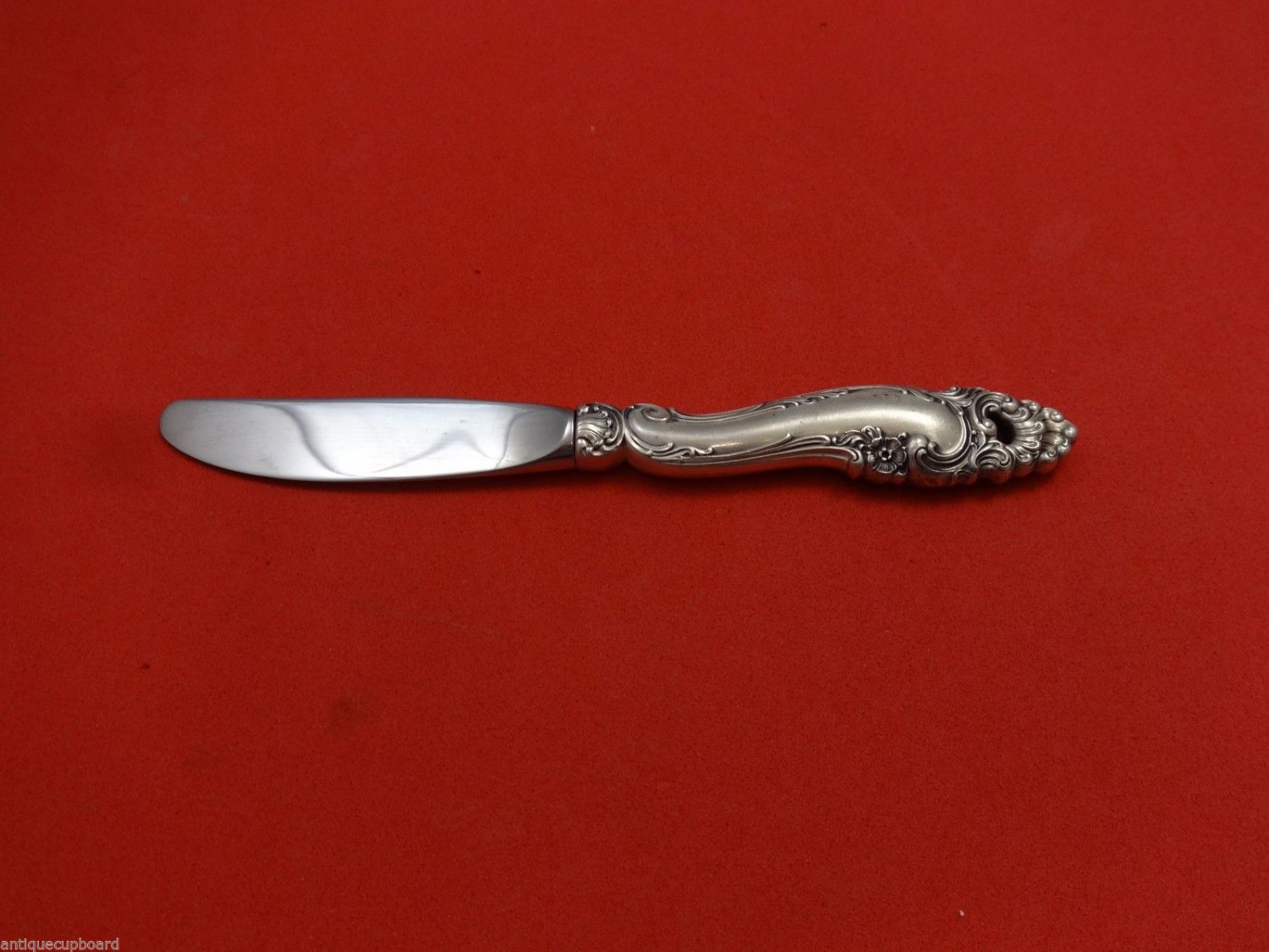 Decor by Gorham Sterling Silver Butter Spreader Hollow Handle 6 1/4""