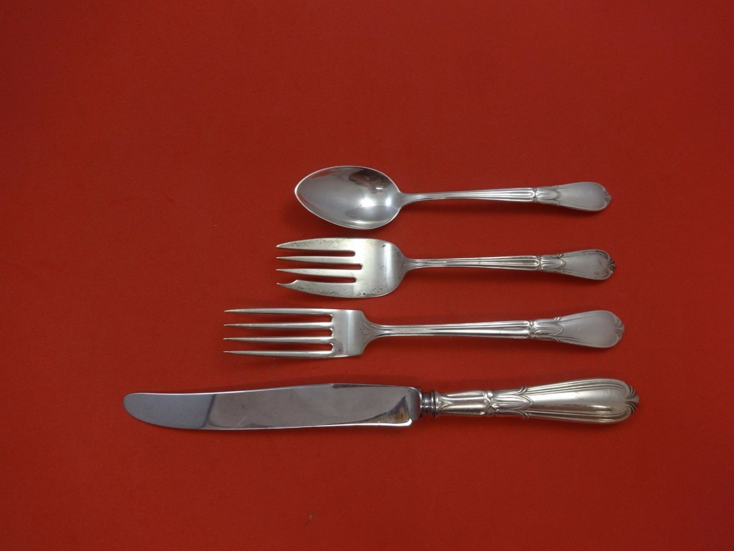 Troubadour by Concord Sterling Silver Regular Size Place Setting(s) 4pc