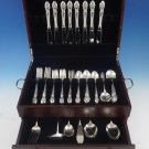 Enchanting Orchid by Westmorland Sterling Silver Flatware Service 8 Set 46 Pcs