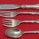 Strasbourg by Gorham Sterling Silver Place Size Setting(s) 4pc