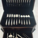 Queen's Lace by International Sterling Silver Flatware Set Service 67 Pieces