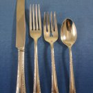 Chased Romantique by Alvin Sterling Silver Regular Place Setting(s) 4pc