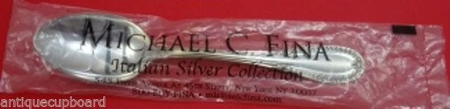 """Impero by Schiavon-Italy Sterling Silver Serving Spoon 9 3/4"""" New"""