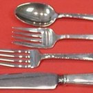 William and Mary by Lunt Sterling Silver Regular Size Place Setting(s) 4pc