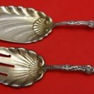 Versailles by Gorham Sterling Silver Fish Serving Set 2pc Gold Washed