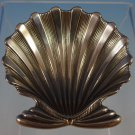 "Buccellati Sterling Silver Salt Cellar Clam Shell 1 7/8"" X 1 7/8"" (#1247)"