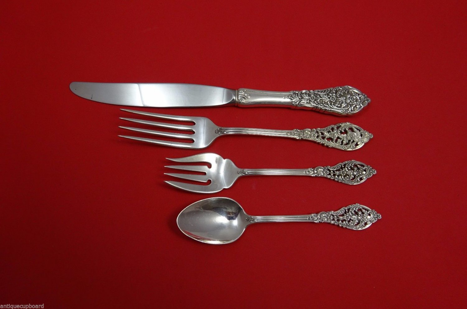 Florentine Lace by Reed & Barton Sterling Silver Dinner Size Setting(s) 4pc