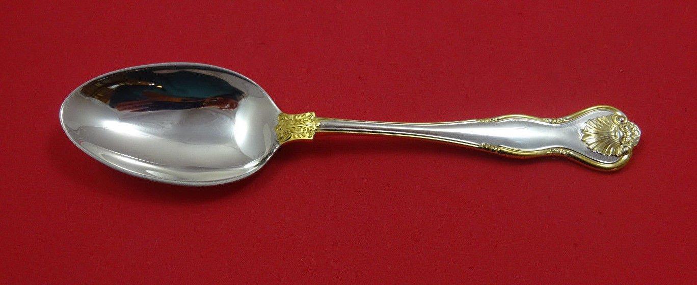 "Royal Husk Gold by C J Vander Sterling Silver Place Soup Spoon 7 1/4"""