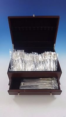 Old Master by Towle Sterling Silver Flatware Set For 8 Service 56 Pieces New