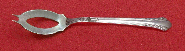 "Shamrock V By Gorham Sterling Silver Olive Spoon Ideal 5 3/4"" Custom Made"