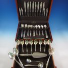 Twilight by Oneida Sterling Silver Flatware Set For 8 Service 69 Pieces