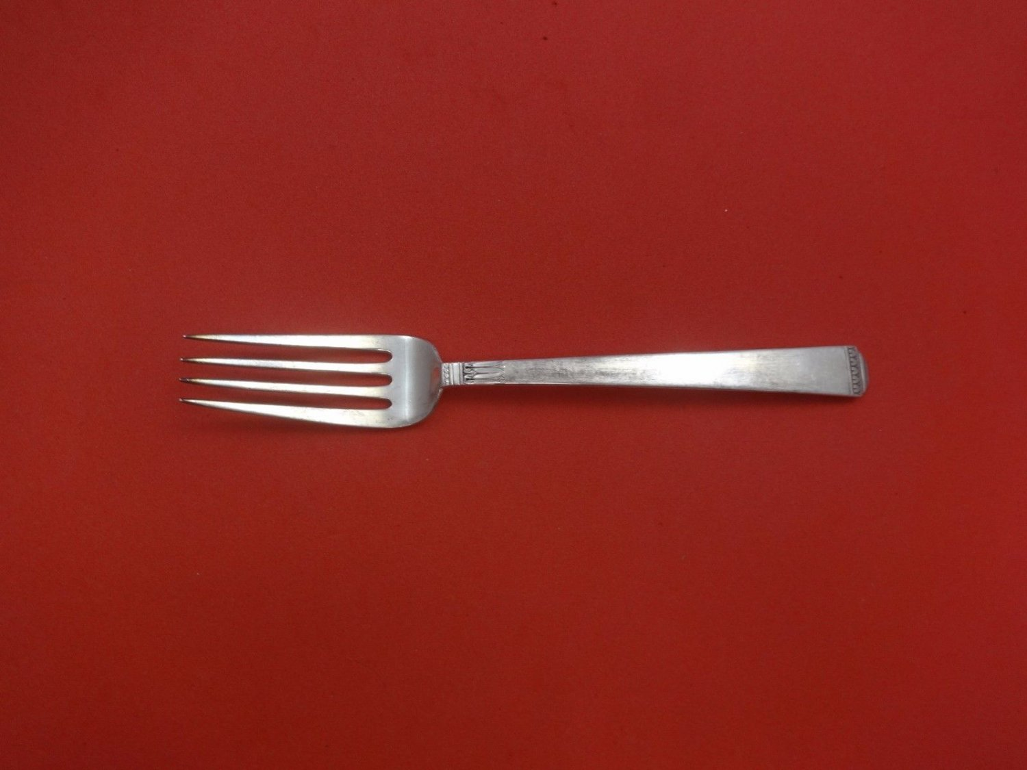 Regency by Lunt Sterling Silver Dinner Fork 7 1/2""