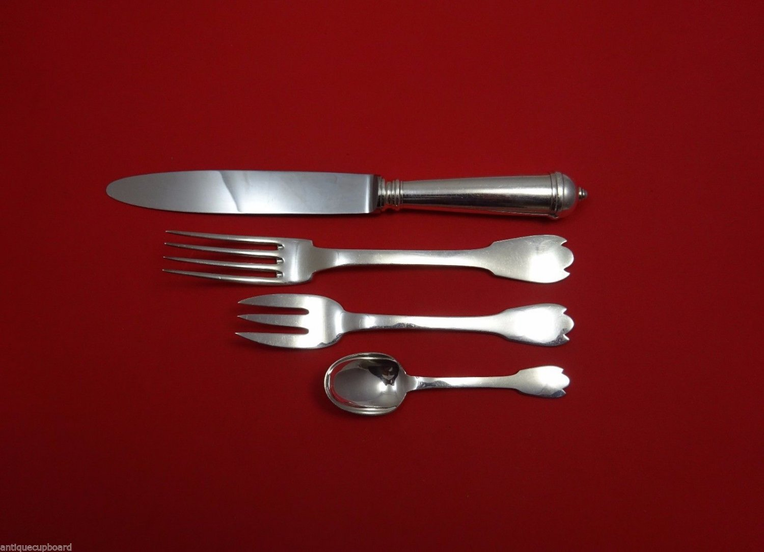 Hildebert by Christofle Sterling Silver Dinner Size Place Setting(s) 4pc