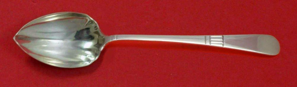 "Modern American by Gorham Sterling Silver Grapefruit Spoon Fluted Custom 5 3/4"""