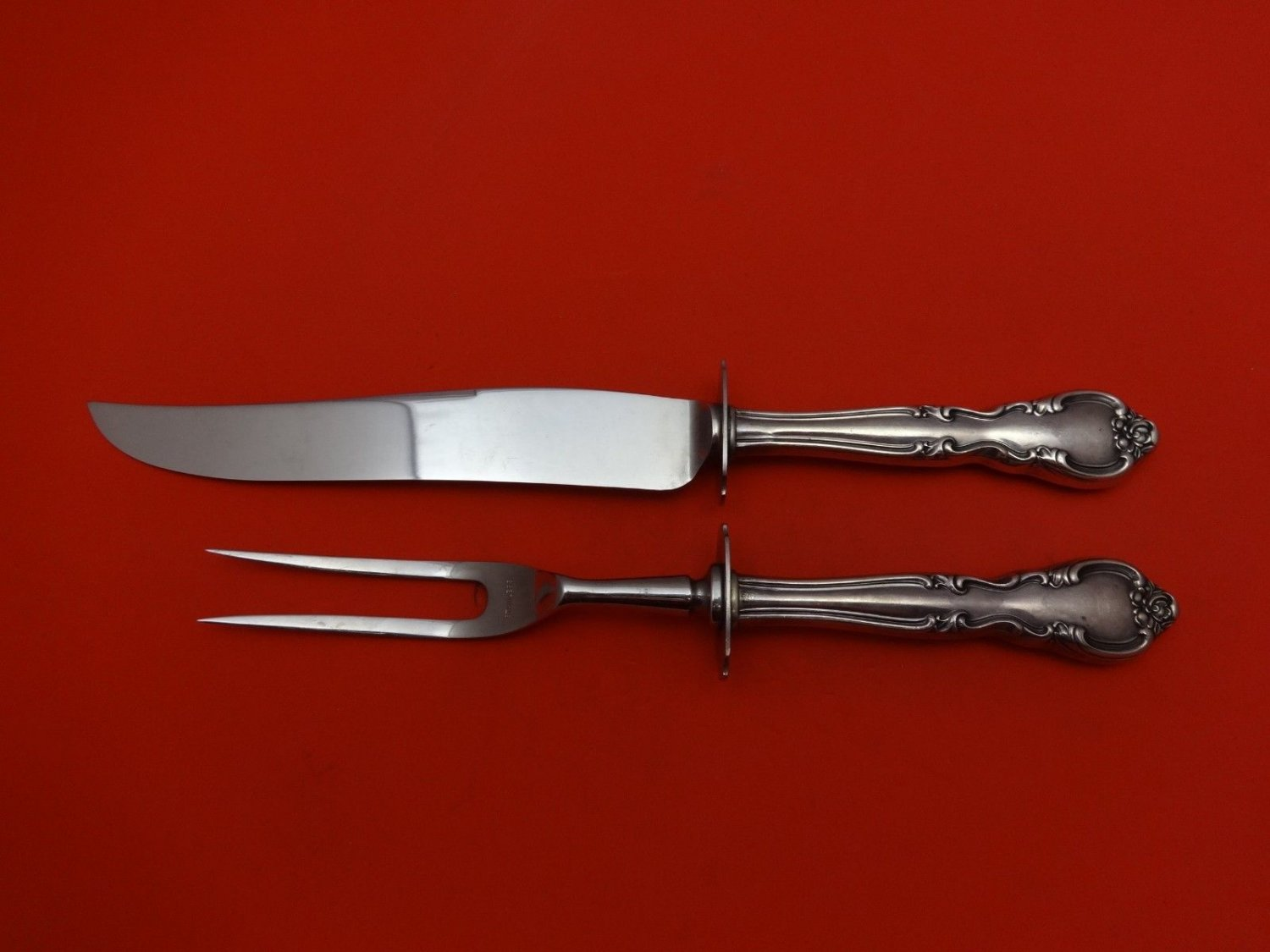 """American Classic by Easterling Sterling Silver Steak Carving Set 2pc 10"""""""