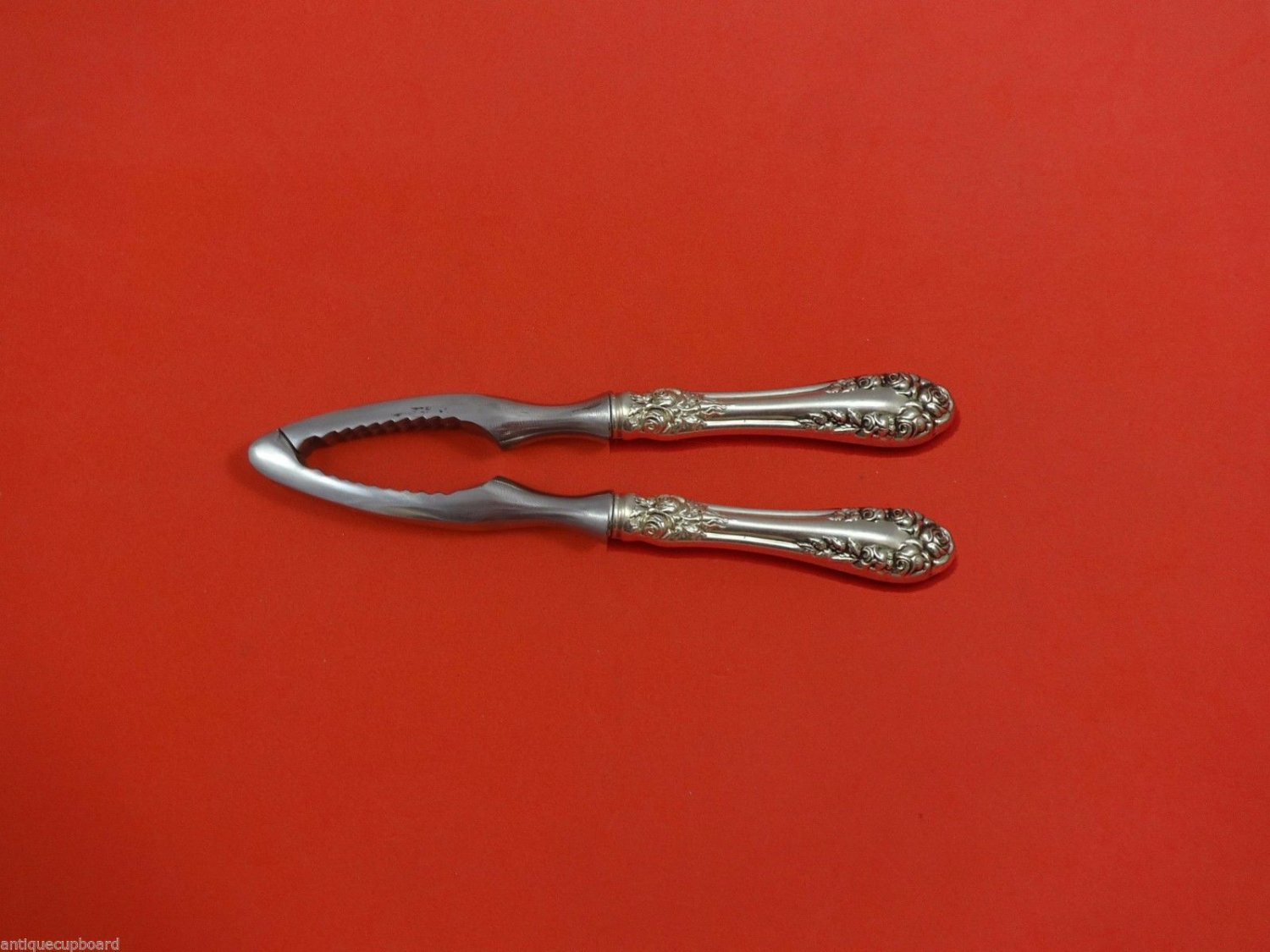 """Rose by Wallace Sterling Silver Nut Cracker HHWS  Custom Made 7 1/4"""""""