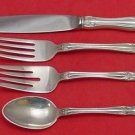 Chateau Rose by Alvin Sterling Silver Dinner Size Place Setting(s) 4pc