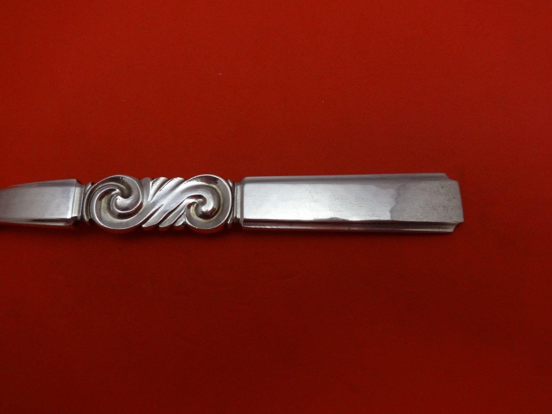 """Scroll by Georg Jensen Sterling Silver Iced Tea Spoon 7 1/4"""""""