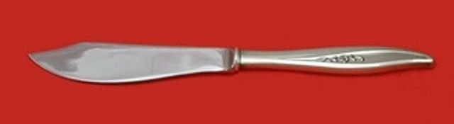 Twilight by Oneida Sterling Silver Fish Knife Individual Custom Made 8 1/4""