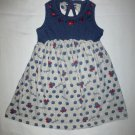 Disney Minnie Mouse Girls Blue Gray Sleeveless Dress Size 3T