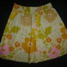 Junior Women's Floral Glam Skirt Size Medium M