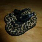 Gymboree Glamour Kitty Animal Leopard Print Mary Jane Girl Shoes Size 2