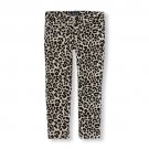 NWT The Children's Place Girls Leopard Animal Print Jeggings Pants Size 8