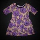 Marmellata Baby Girls Purple Floral Easter Dress 18 Months