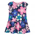 NWT Gymboree Hop N Roll Blue Floral Baby Girls Easter Dress 6-12 Months