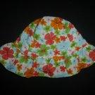 Gymboree Baby Girl Floral Sun Hat 3-6 Months
