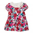 NWT Gymboree Precious Prep Baby Girls Floral Bow Dress 3-6 Months