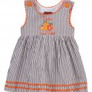NEW Lil Cactus Girls Cutest Pumpkin in the Patch Brown Striped Sleeveless Dress