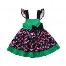 NEW Watermelon Girls Navy Blue Sleeveless Boutique Dress 18 M 2T 3T 4T 5T