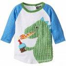 NWT Mud Pie 1st Birthday Dinosaur Boys Shirt Small 12-18 Months