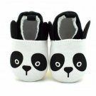 NEW Panda Baby Girl Boy Unisex First Walker Soft Sole Crib Shoes 0-6 6-12 12-18