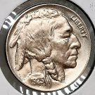1925 P Buffalo Nickel - Gem BU / MS / UNC