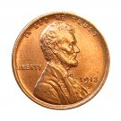 1913 D Lincoln Wheat Cents - Gem BU / MS RD / UNC