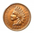 1897 Indian Head Cent - Choice BU / MS RD / UNC